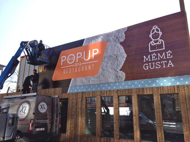 Mijn Pop-up restaurant