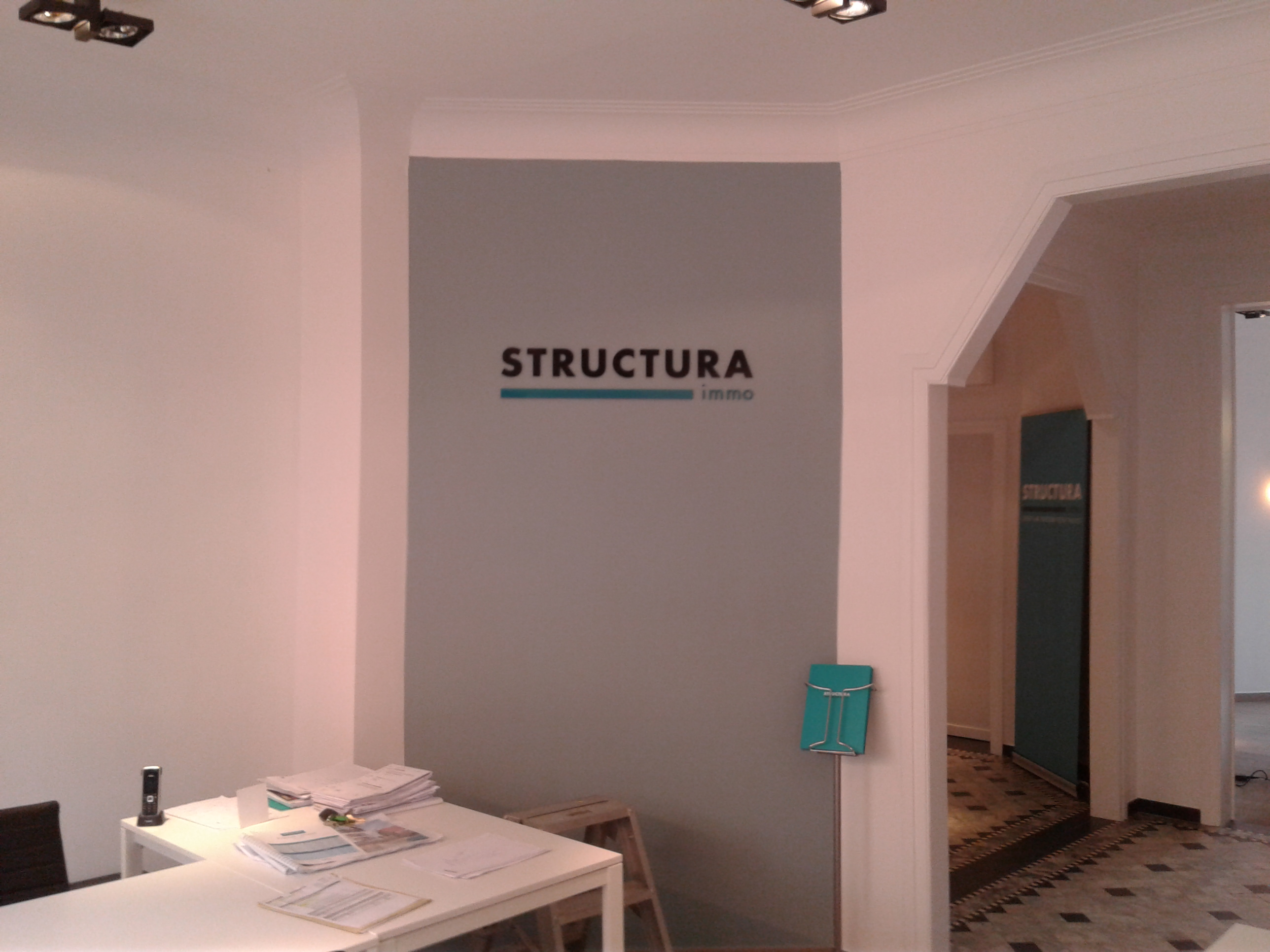 Gevelletters Structura Immo