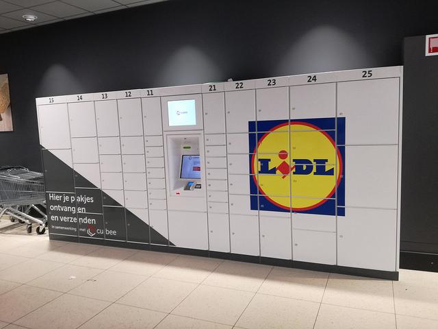 Pakjesautomaat - Lidl