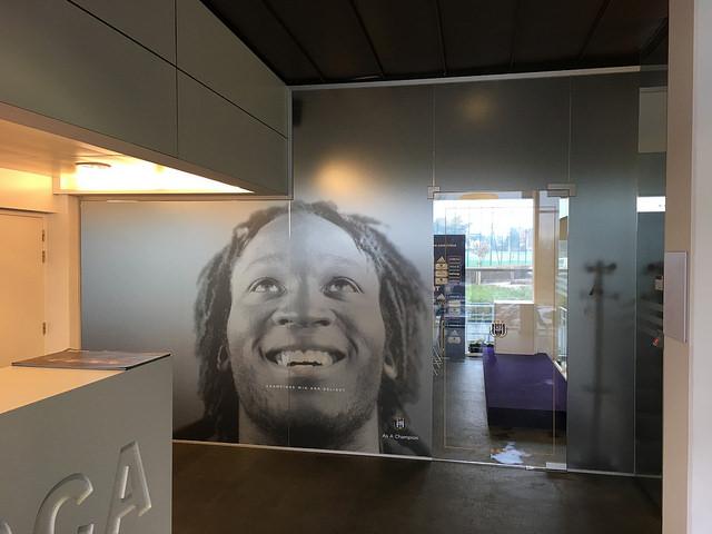 XL Reklame - Glasheldere Folie - RSC Anderlecht