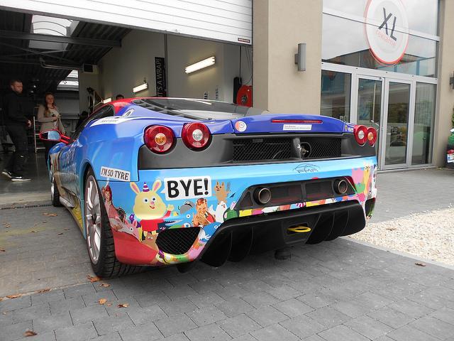 Tom Boonen - Ferrari