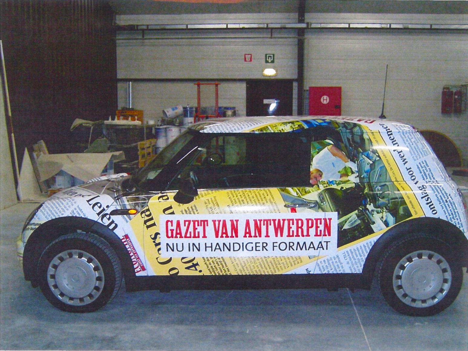 GVA - Gazet Van Antwerpen - groot