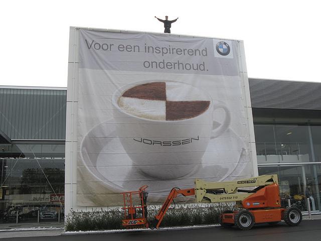 BMW Jorssen - Spandoek