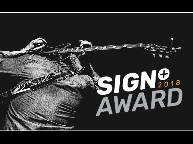 Sign+ 2018 Award