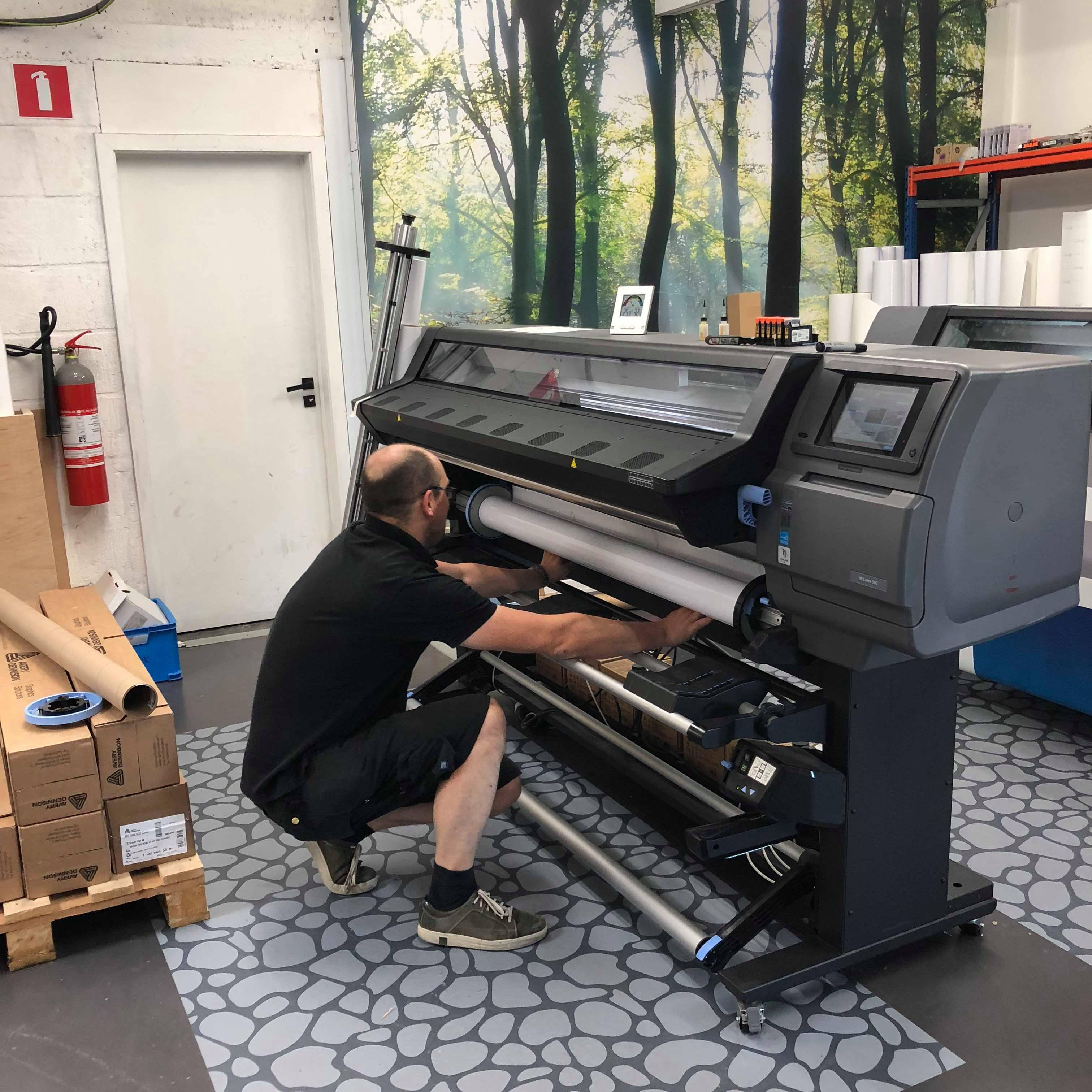 Team XL: Printoperator Laurent