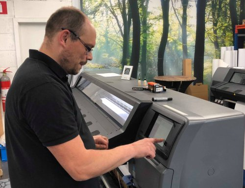 Team XL: de spot op Printoperator Laurent