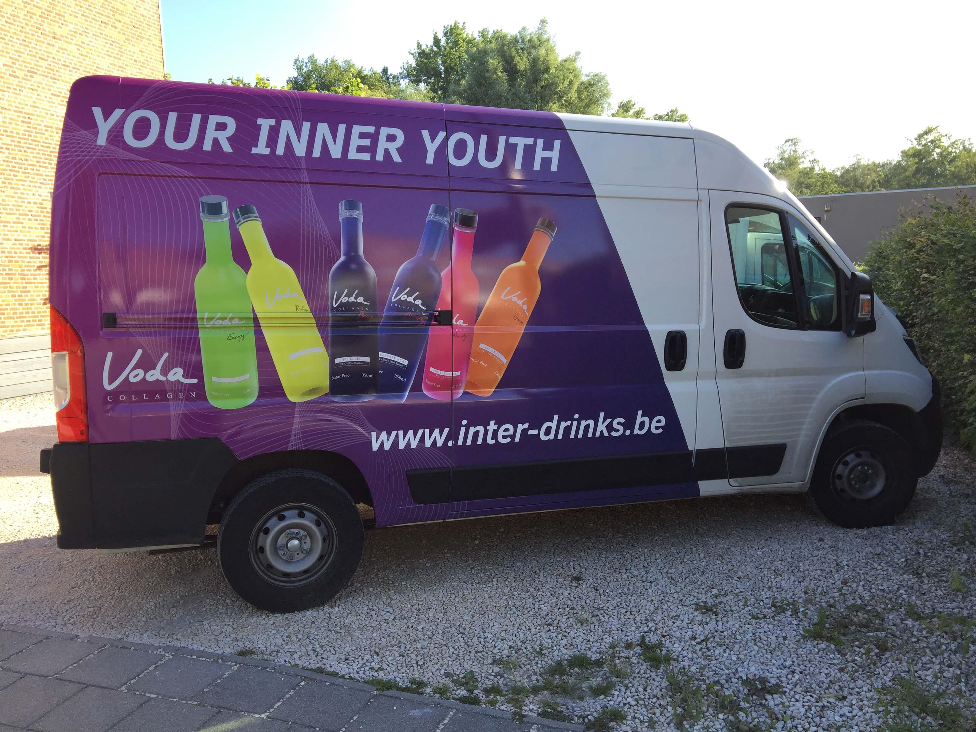 Autobelettering Inter-Drinks