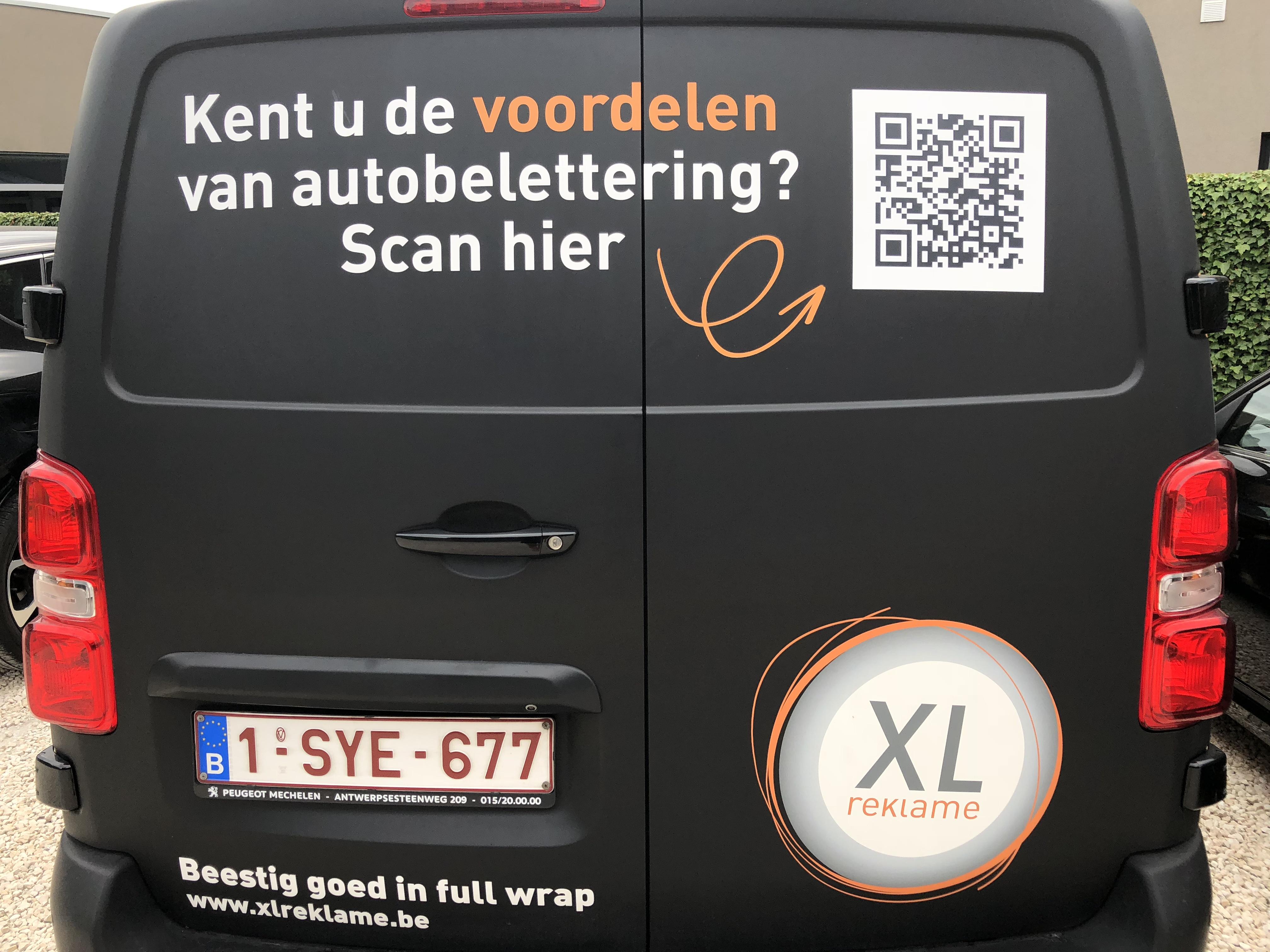 Hoe kan je het rendement van autobelettering meten? - XL Reklame
