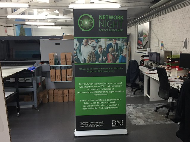 Roll up - NetworkNight