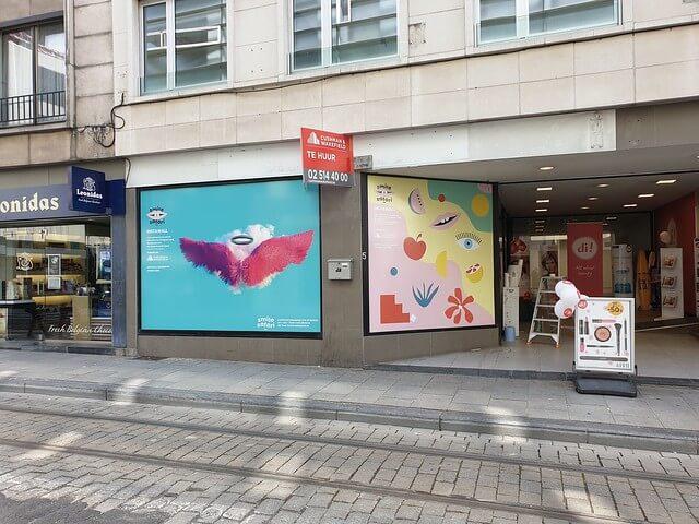 XL Reklame - Etalagebelettering CityCubes