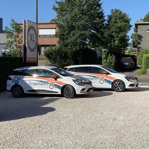 XL Reklame - belettering wagenpark Trapmann