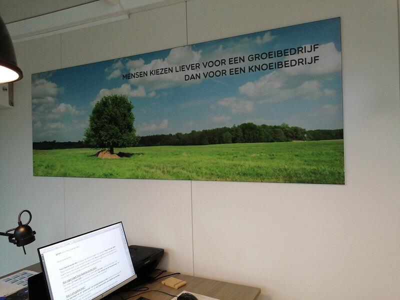 Aankleding muren loodgieter Geert Mertens