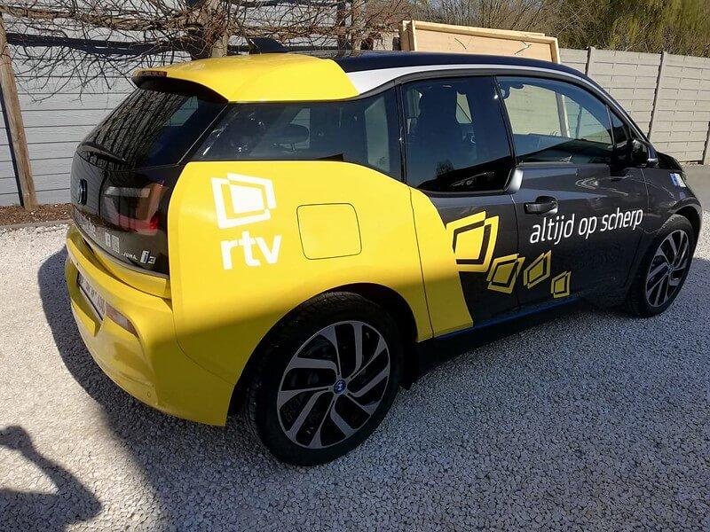 Autobelettering voor RTV