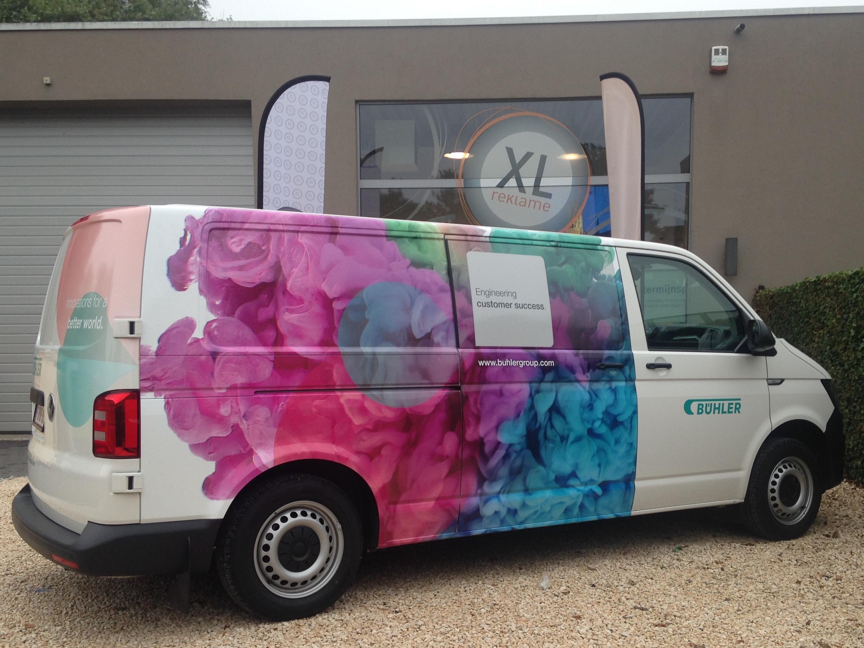 XL Reklame Mechelen - Autobelettering Bühler
