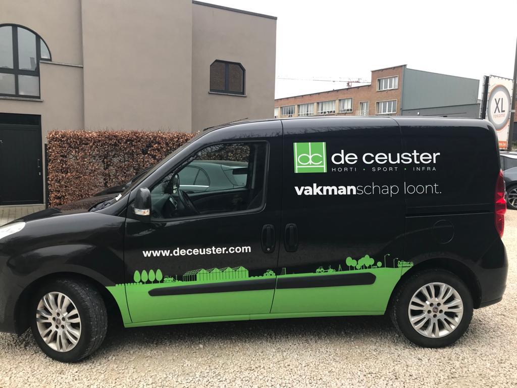 XL Reklame Mechelen - autobelettering De Ceuster