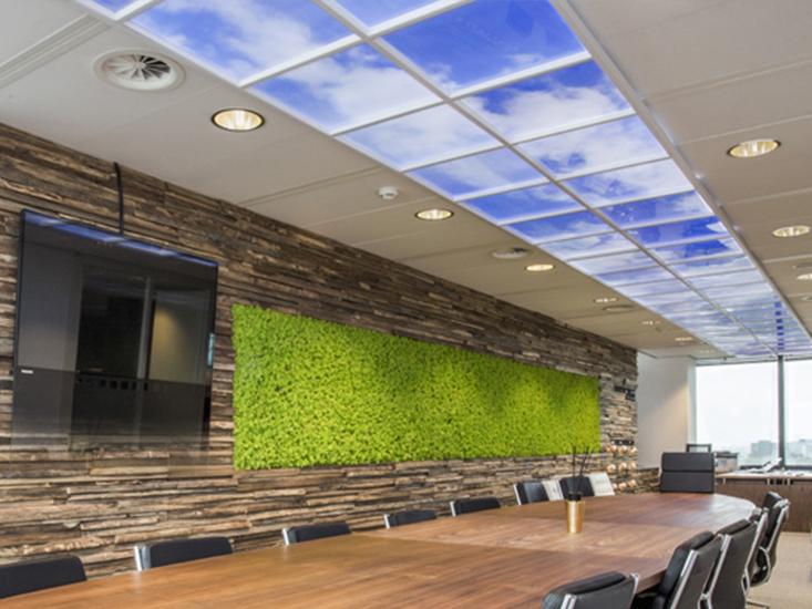 XL Reklame Mechelen - Nieuwe producten: lichtgevende plafondpanelen