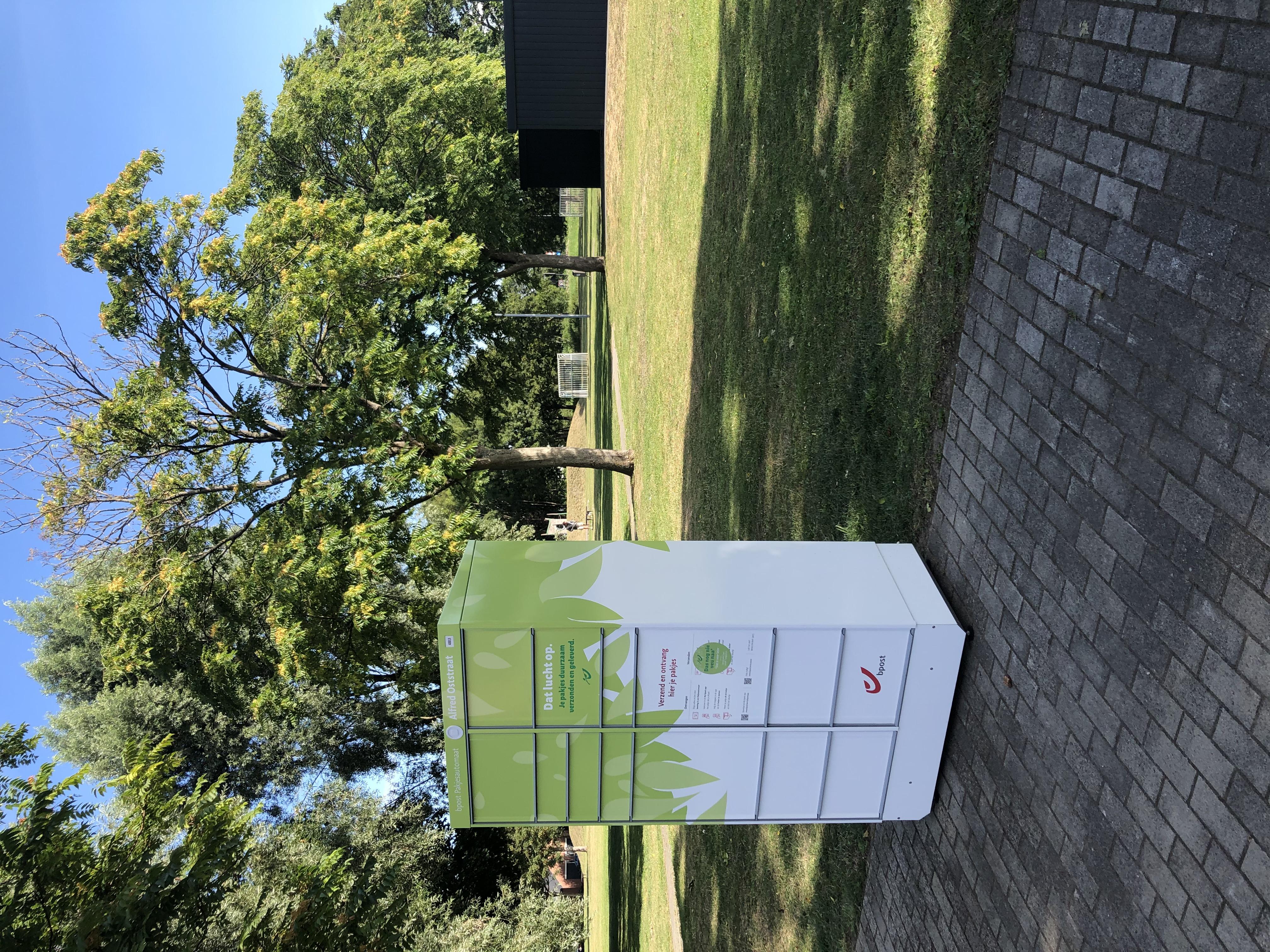 XL Reklame Mechelen - belettering pakjesautomaat