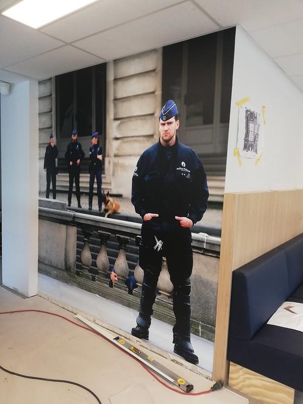 XL Reklame Mechelen - airtex politievakbond VSOA