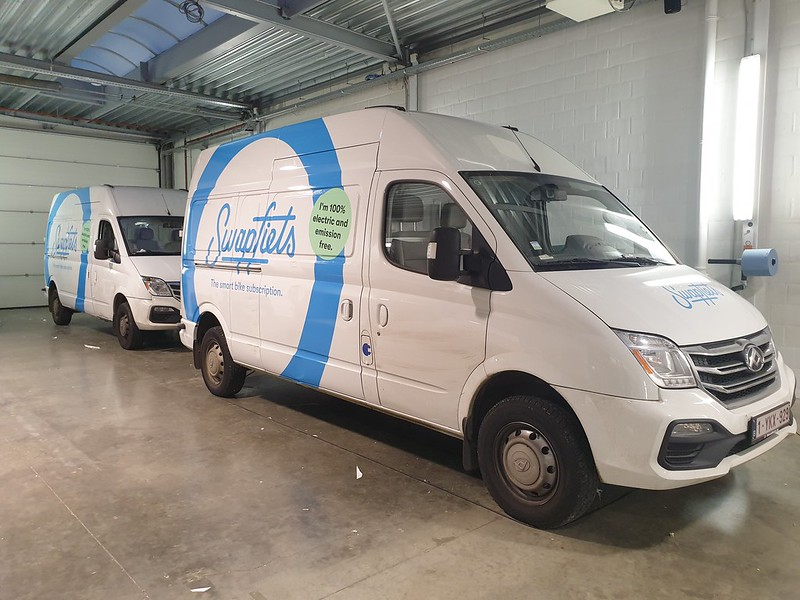 Autobelettering elektrische wagens - XL Reklame Mechelen