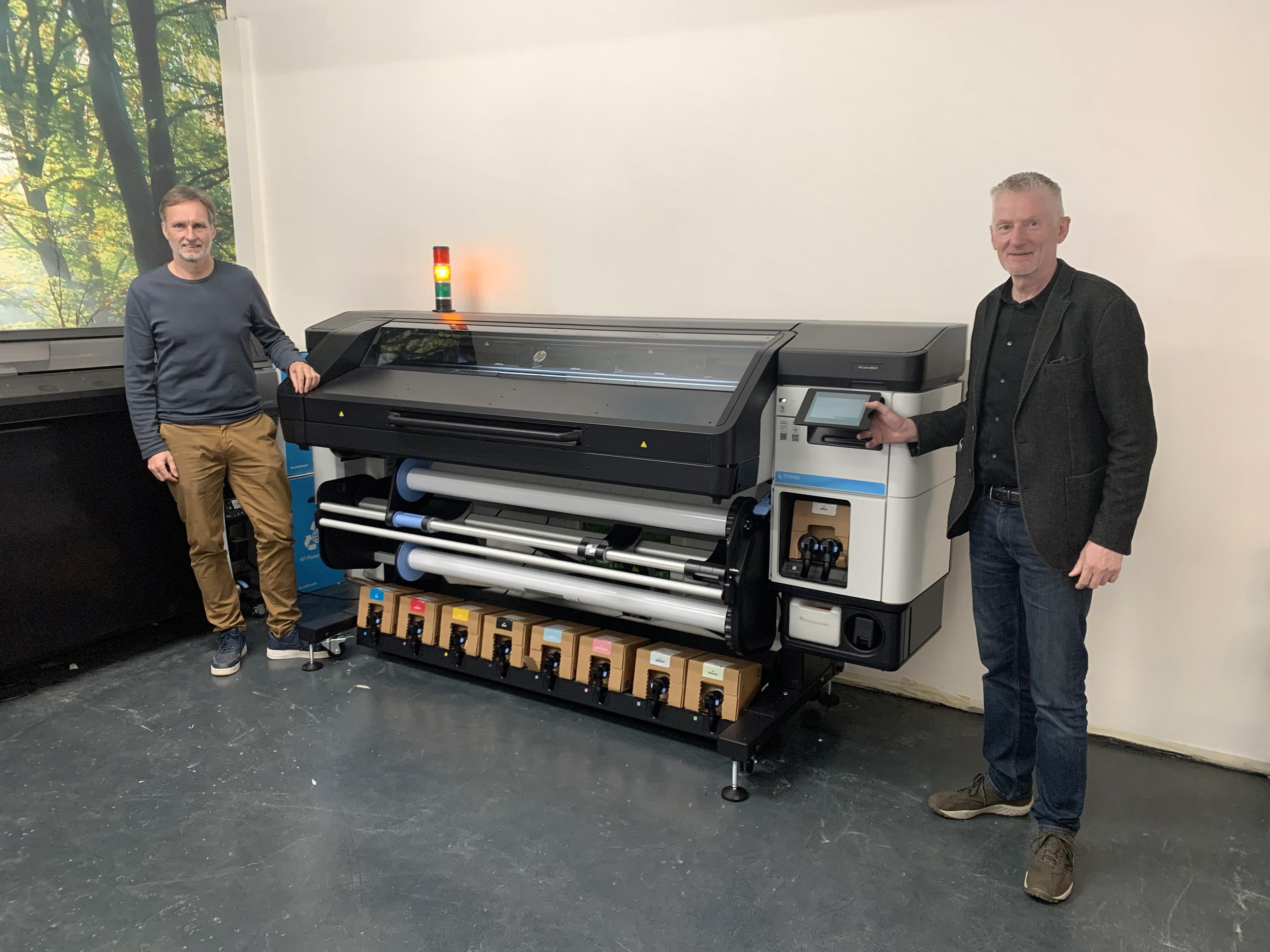 HP Latx 800 printers bij XL Reklame