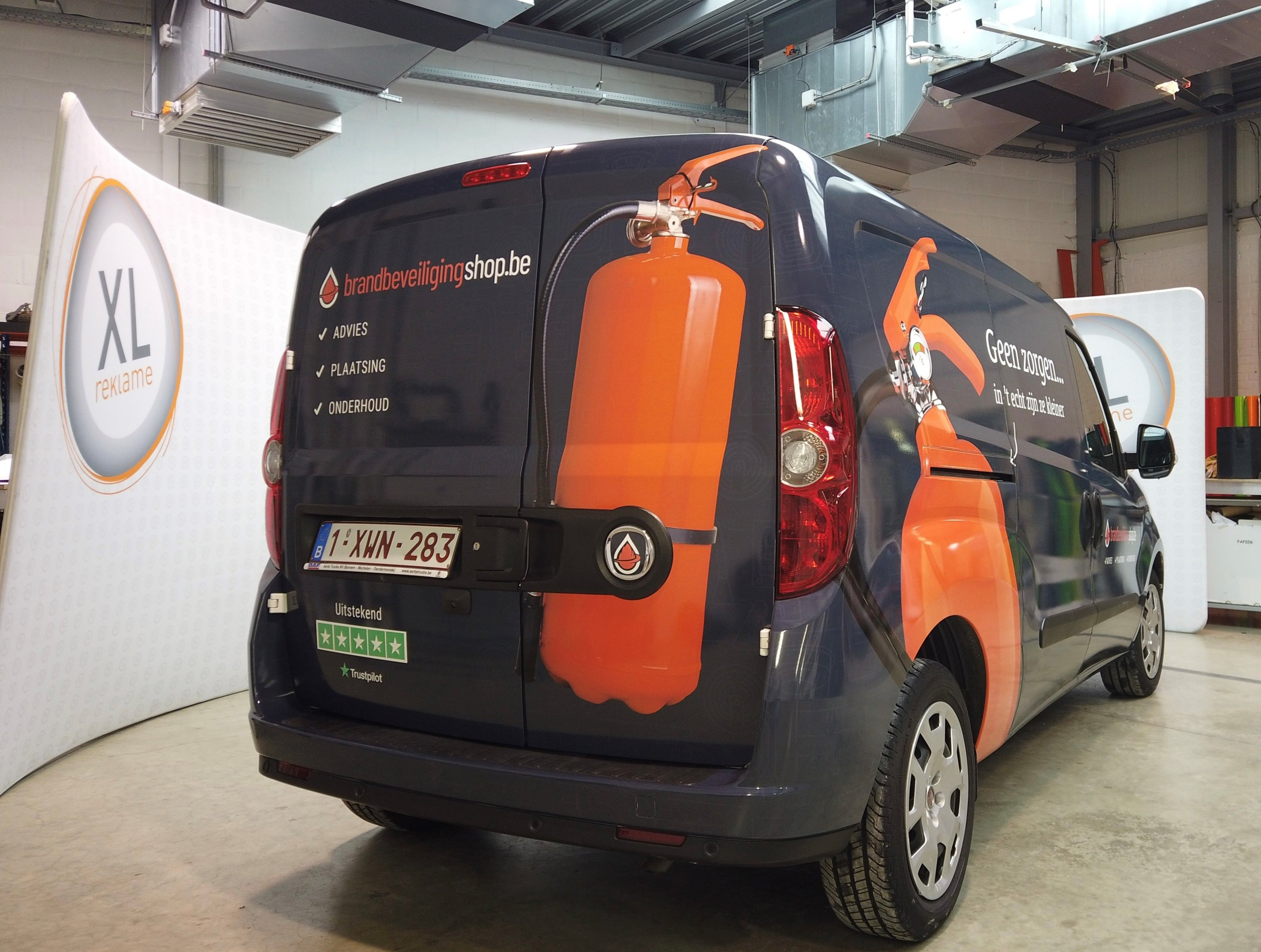 Full wrap Online Fire Protection Group