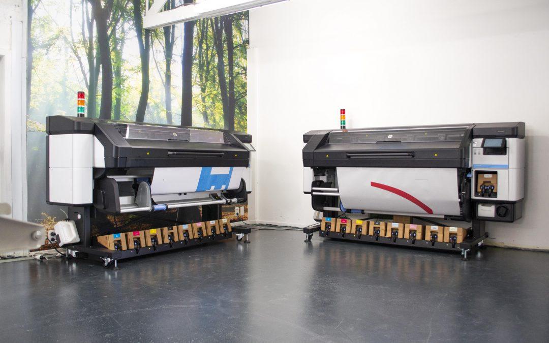 Nieuwe machines: 2 HP Latex 800 Printers