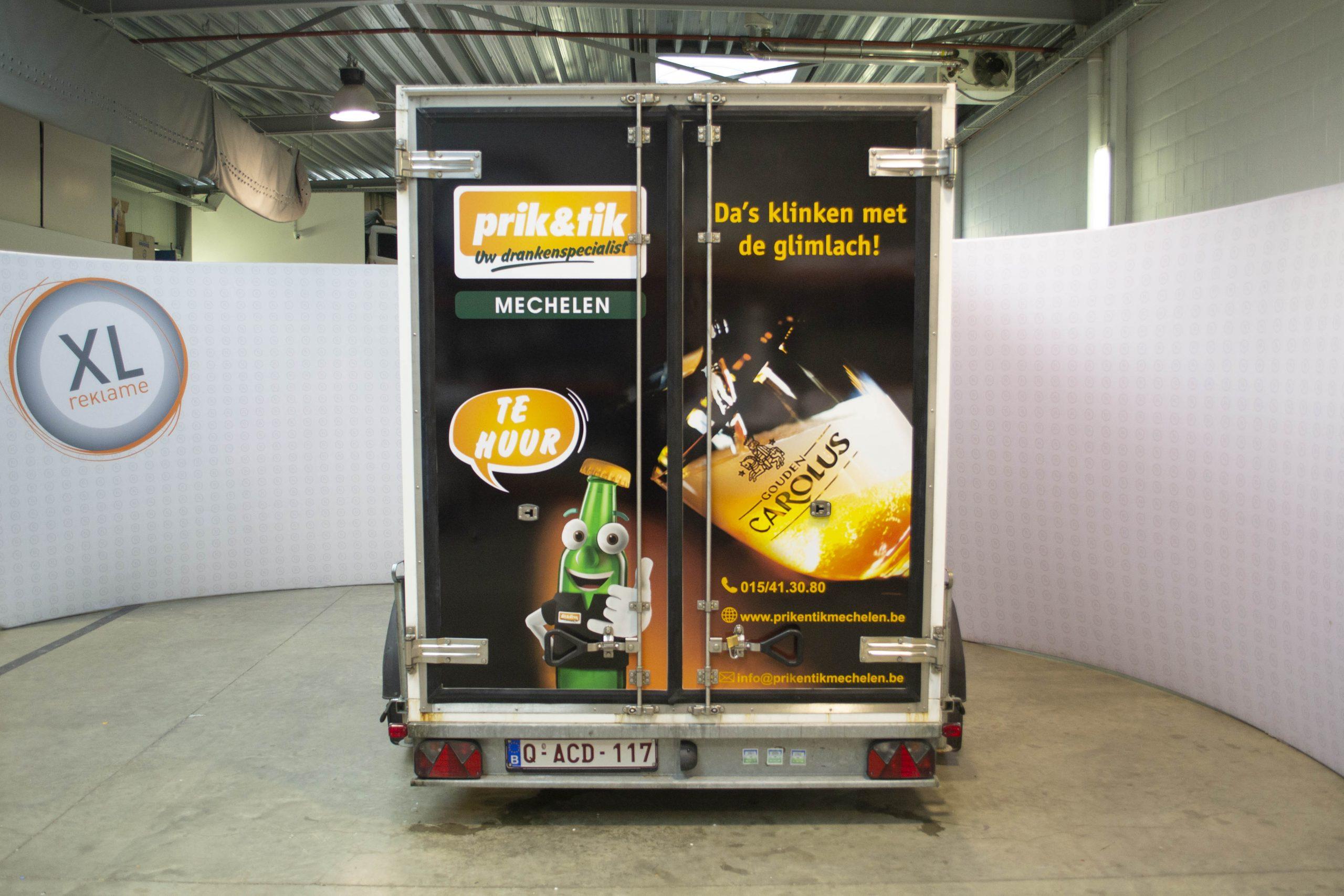 Autobelettering Swapfiets - XL Reklame Mechelen